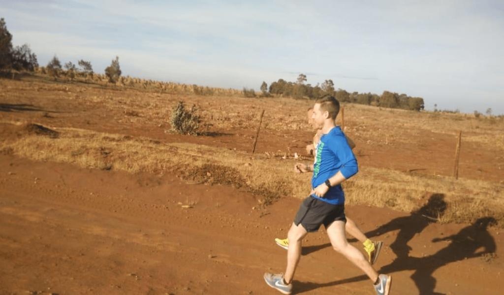 Kenya distance running