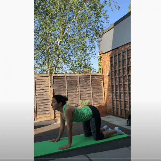 Spinal mobility routine