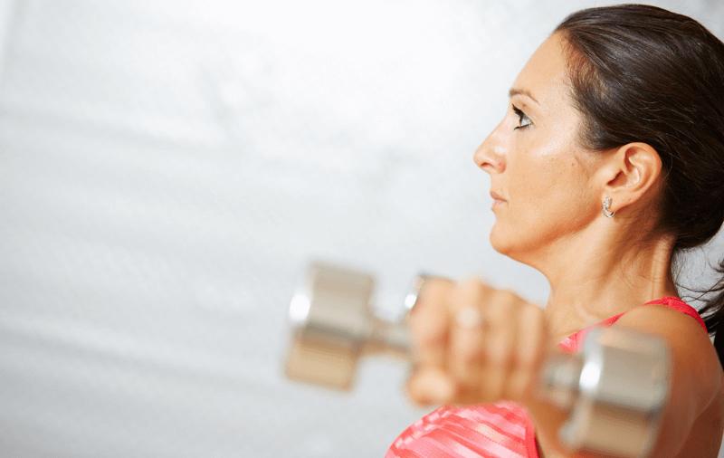 Aleksandra Kapuran personal trainer weights