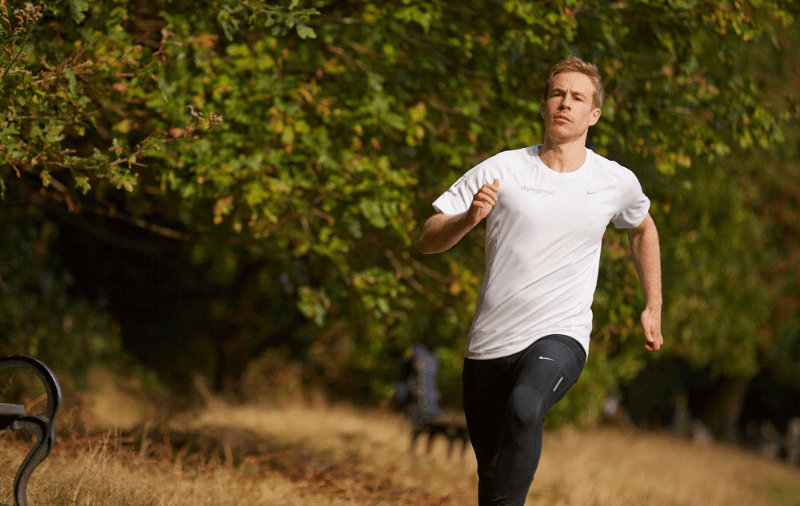 Darren O'Toole running