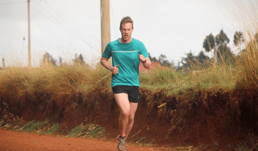 Fartlek running in Kenya