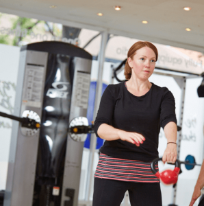Kirsty Dynamic Fitness Training client