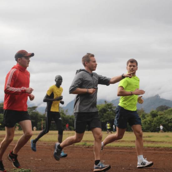 Running in Kenya